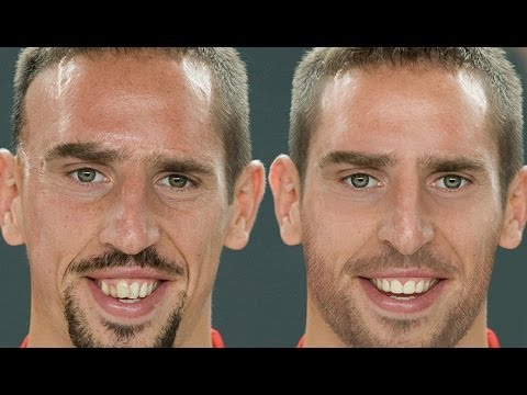 Franck Ribéry - Extreme Makeover Photoshop