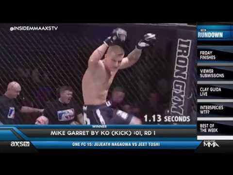 A 113 Second KO in Friday Finishes