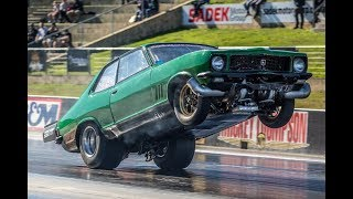 $50,000 drag race, the fastest Pro Street cars in Australia!