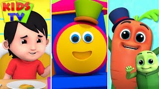 Wow Wow Veggies | Bob The Train Shorts | Kids Learning Videos & Cartoon Shows - Kids TV