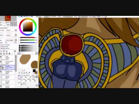 Sekhmet the Lion Goddess Speedpaint