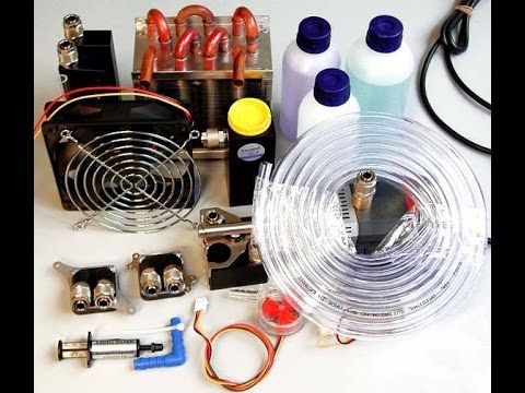 DIY Water Cooling System : Silent & Ice Cold (2002)