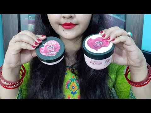 The body shop British rose body butter vs the body shop British rose body yogurt review