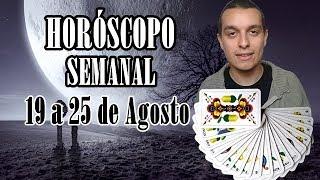 Horóscopo Semanal: 19 a 25 de Agosto de 2019