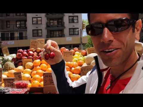 Fruit is Fast Food!  Michael Arnstein, The Fruitarian on a high performance fruit diet!