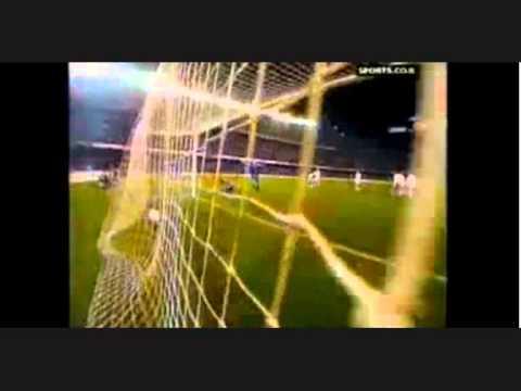 soccering match tussen ploegen. Barcelona? Kameleon Sri Lanka?