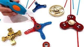 Secret DIY vs Custom Rare Fidget Spinner - Best Trick Hack for How To Making Fidget Spinners of 2017