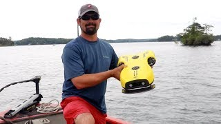 UNDERWATER DRONE Finds GIANT School of Bass (Lake Martin)
