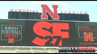 HOL HD: Sam Foltz tribute at Nebraska Fan Day