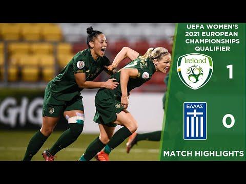 #IRLWNT HIGHLIGHTS | Ireland 1-0 Greece