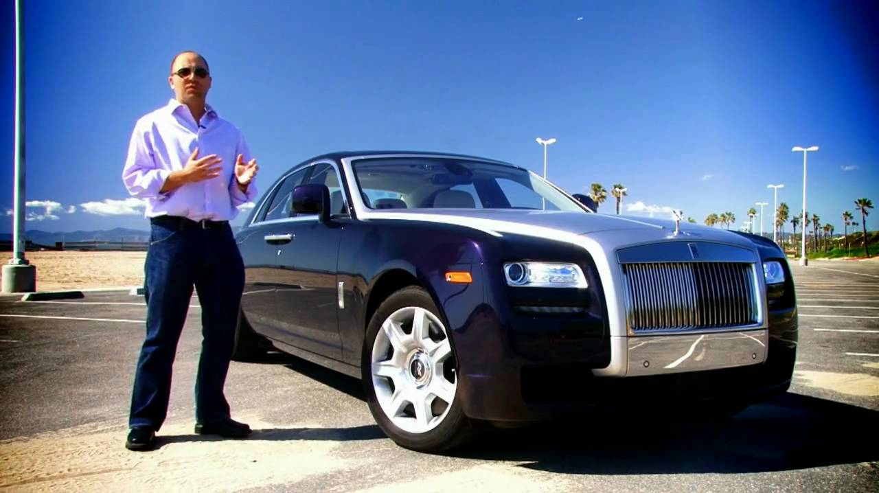 First Drive 2011 Rolls Royce Ghost Youtube