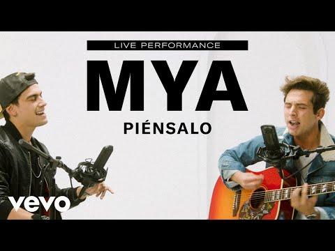 MYA - Piénsalo (Live Performance) | Vevo