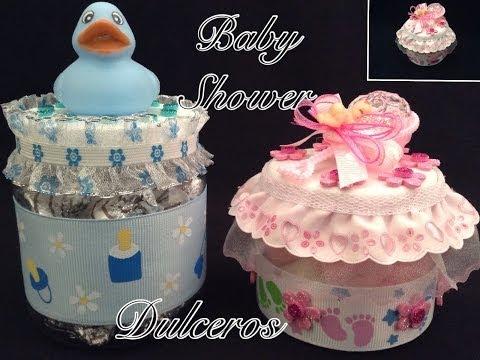 DULCEROS PARA BABY SHOWER