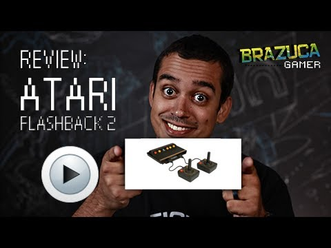 Atari Flashback 2- Review em Portugues.