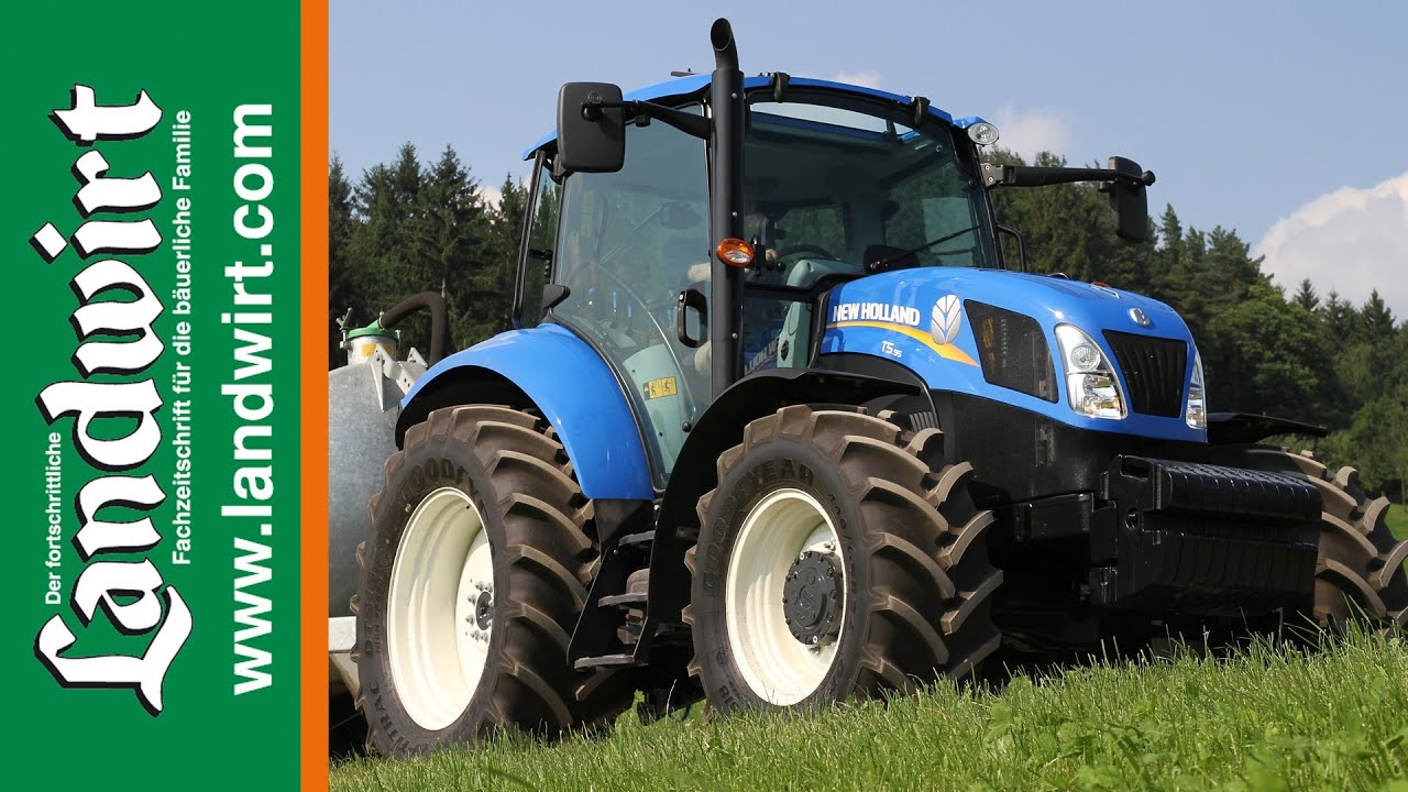 New Holland T5 >> New Holland T5 - YouTube