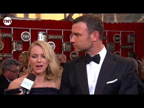Naomi Watts & Liev Schreiber I SAG Awards Red Carpet 2015 I TNT