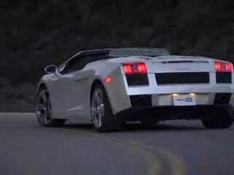 2006 Lamborghini Gallardo Spyder Road Test by Inside Line