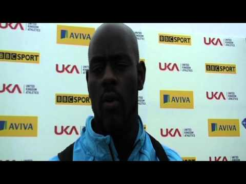 Aviva London Grand Prix - Abdul Buhari - Mens Discus