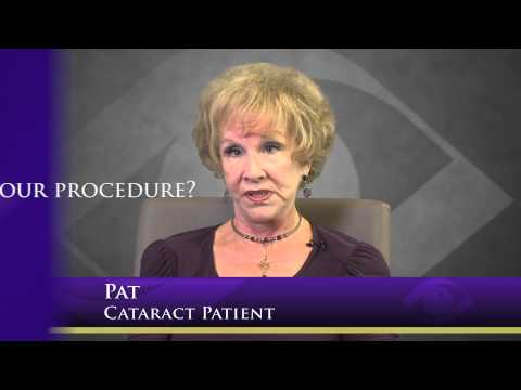 Pat's Cataract Procedure at Harvard Eye Associates