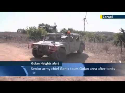 Israel : Syrian Tanks enter the Golan Heights to flush out Rebels (Nov 04, 2012)