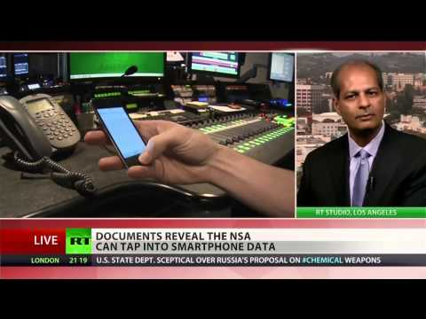 NSA spies on smart phones