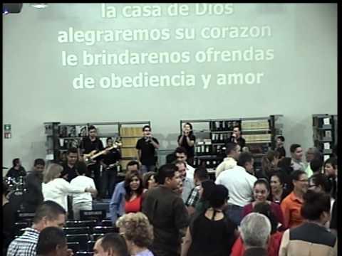 A LA CASA DE DIOS - LA VID MONCLOVA  21-09-2014