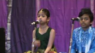 Kanti Sukravaramu by Sathvika Nittala at Annamaacharya Aradhana at Toronto Canada