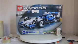 Mở hộp Lepin 20022 Lego Technic 8461 Williams F1 Team Racer giá sốc rẻ nhất