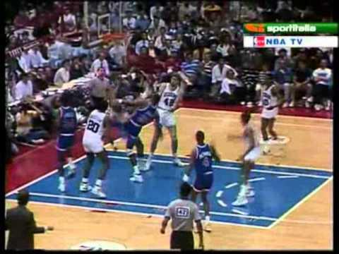 New York Knicks @ Philadelphia 76ers, 1989 First Round Game 3 Finish 2/3