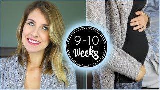 9-10 Week Pregnancy Update | Headaches, Gender Predictions, New Doctor