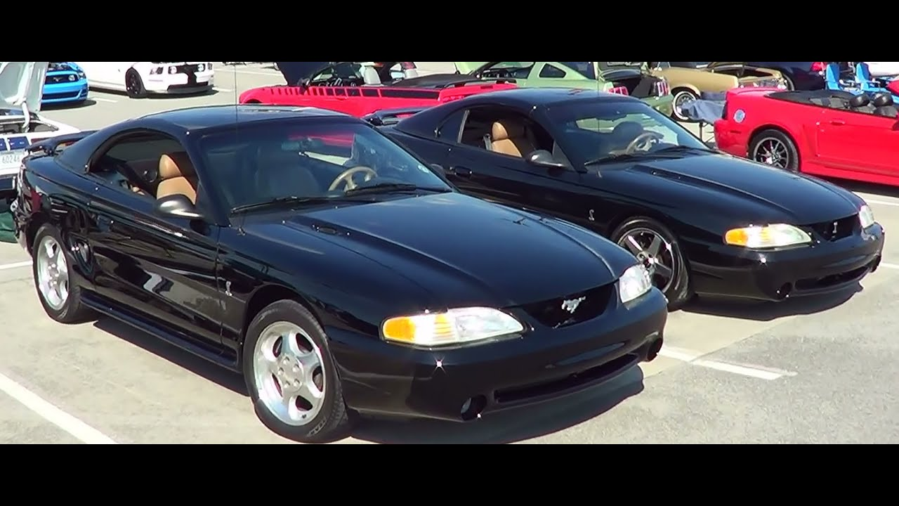 1995 ford mustang cobra hardtop convertible youtube. Black Bedroom Furniture Sets. Home Design Ideas