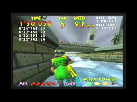 Wave Race 64 - All Courses Time Trial 9 lap