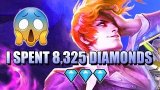 I SPENT 8,325 DIAMONDS IN THE KING OF FIGHTERS BINGO EVENT IN MOBILE LEGENDS