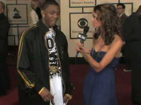 The 50th Grammy Awards - Soulja Boy Red Carpet Interview