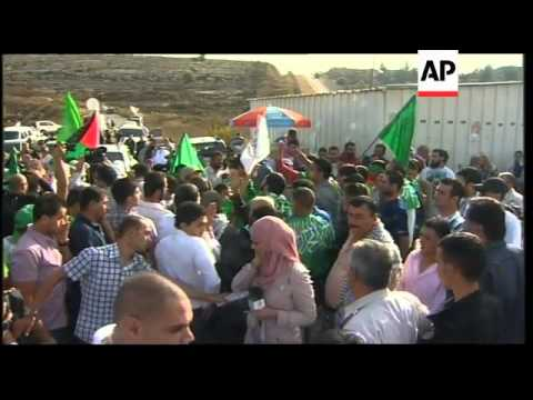 Palestinian relatives await release of loved ones