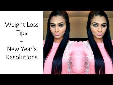 WEIGHT LOSS TIPS + New Year's Resolutions