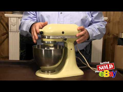 EBAY TREASURE TIPS: Old Kitchen Aid Mixer - Good Seller on eBay!
