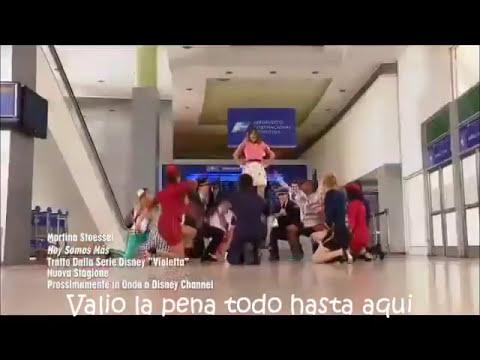 Violetta Hoy Somos Mas (Letra) ( Violetta 2)