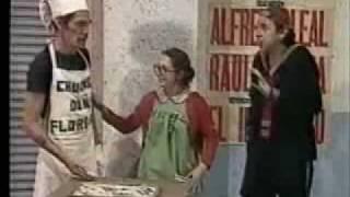 El Chavo del 8: Don Ramón vendiendo los churros de Doña Florinda