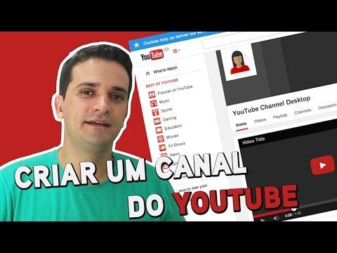 COMO CRIAR UM CANAL DO YOUTUBE  - ATUALIZADO 2017 thumbnail