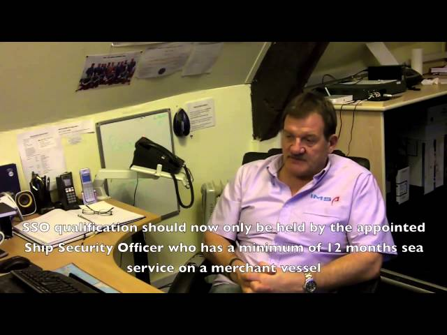 2010 Manila Amendments - New Security Training Requirement