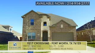Sandlin Homes - 9217 Crossvine Fort Worth, TX 76123