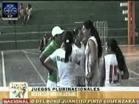 SIC Juegos plurinacionales denuncian irregularidades en trinidad