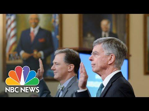 Watch Trump Impeachment Hearings Day 1  NBC News
