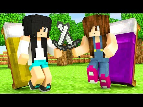 Minecraft Bed Wars - DUELO MINEGIRL
