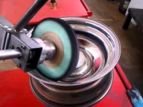 Motorcycle Wheel Polishing Service