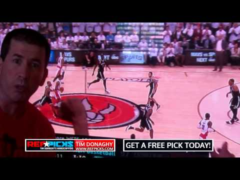 You wont believe this bad ref call in Game - 7 - Raptors vs. Nets - Tim Donaghy