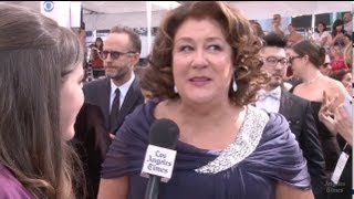 """Emmy Red Carpet: Margo Martindale of """"The Americans"""""""