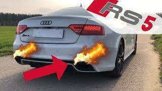 Motor Heroin Exhaust Audi RS5/RS4 B8 Auspuff Modifikation mit Klappensteuerung