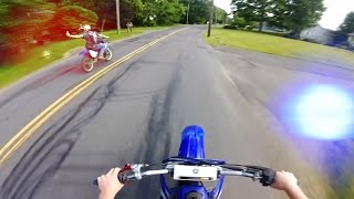 12 Minutes of Police Chase Getaways | Cops Vs Dirtbikes 2016